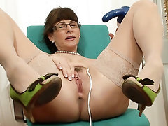 Homemade, MILF, Stockings, Mature