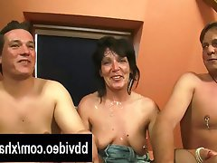 Blowjob, Facial, German, MILF