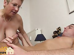 Cumshot, German, Amateur, Mature