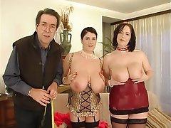 Anal Big Boobs German Threesome