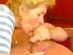 German, Amateur, Blowjob, Granny