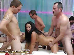 Amateur Cumshot Gangbang German Group Sex