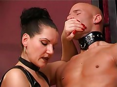 BDSM, German, Handjob, Masturbation, Orgasm