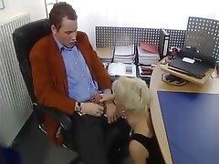 Blonde German MILF Pornstar