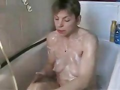 German, Shower, Masturbation, Webcam