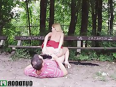 Amateur, Babe, Blonde, Blowjob, Outdoor