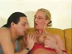 Big Boobs Blonde German MILF Pornstar