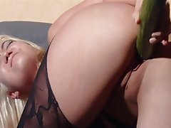 Cumshot, German, Handjob, Masturbation