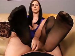 Blowjob, Handjob, Stockings, Pantyhose