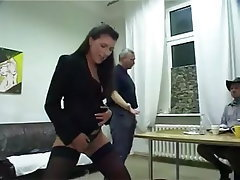 Stockings Pantyhose German High Heels Pissing