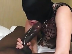 Blowjob, Interracial, Cum in mouth, Big Black Cock