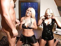 Blonde German Threesome