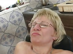 Blonde, Cumshot, Granny, Hairy