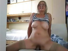 Blonde, Mature, Webcam
