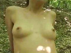 Amateur, Babe, German, Hairy, Outdoor