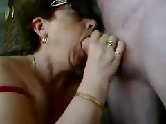 Amateur, Big Boobs, Blowjob, Granny