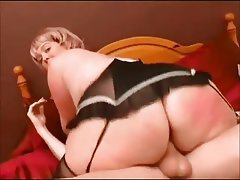 BBW, Big Butts, Blonde, British