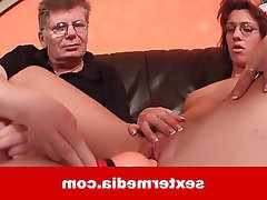 Old and Young, Amateur, Casting, German