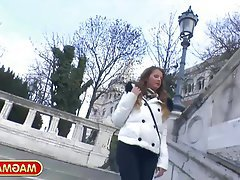 Big Boobs, Public, German, POV