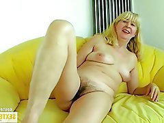 Old and Young, Amateur, German, Granny, Mature