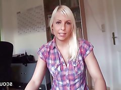 Amateur, German, Handjob, POV, Teen